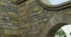 Brown Grey Limestone chiselled