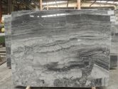 Silver Moon Marble vein-cut