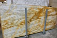 Giallo Siena light slab